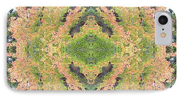 IPhone Case featuring the photograph Fall Color Kaleidoscope by Bill Barber