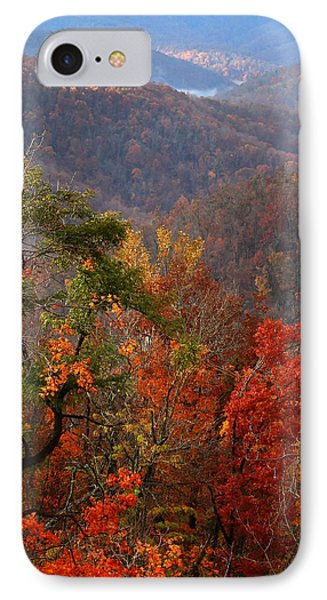 IPhone Case featuring the photograph Fall Color Ponca Arkansas by Michael Dougherty