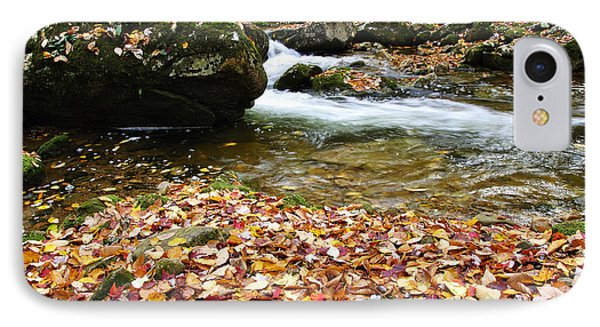 Fall Color Rushing Stream Phone Case by Thomas R Fletcher