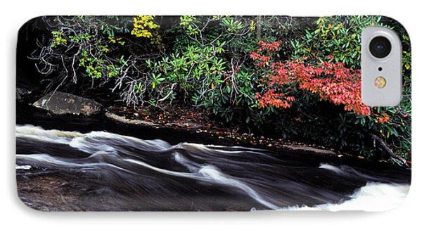 Fall Color Swallow Falls State Park Phone Case by Thomas R Fletcher