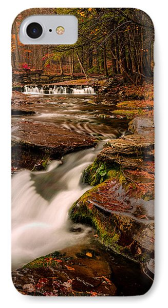 Fall Colors Around The Stream IPhone Case