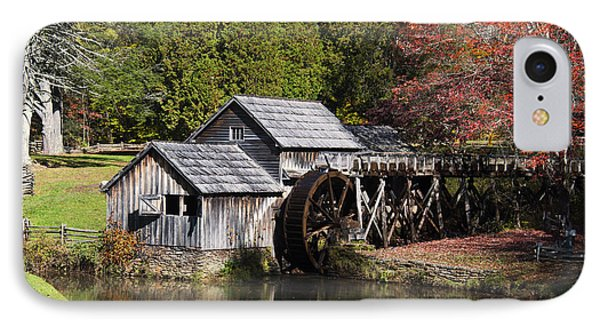Fall Colors At Mabry Mill Blue Ridge Parkway IPhone Case
