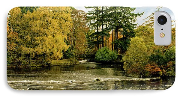 IPhone Case featuring the photograph Fall Colour On The River Ness Islands by Jacqi Elmslie