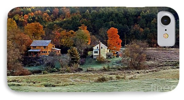 IPhone Case featuring the photograph Fall Country Side - Vt2015 by Joe Finney