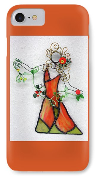 Fall Dancer Phone Case by Maxine Grossman