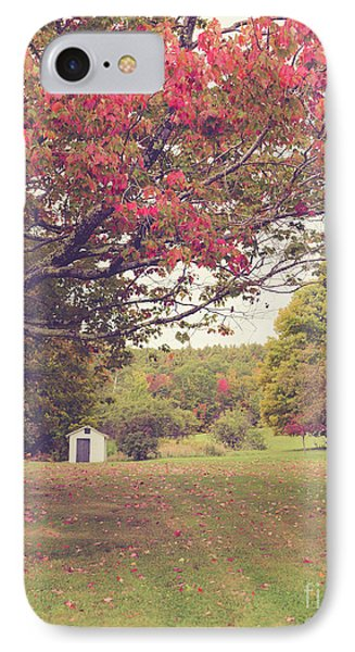 Fall Foliage And Old New England Shed IPhone Case