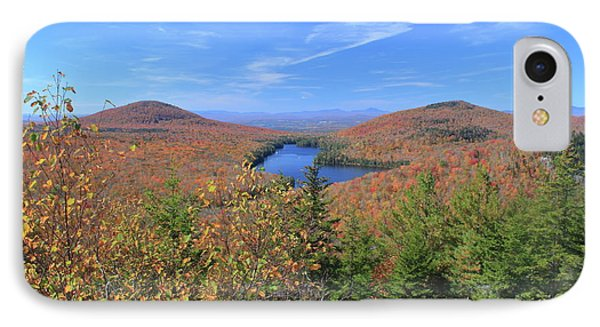 Fall Foliage At Owl's Head Groton State Forest IPhone Case by John Burk