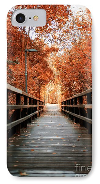IPhone Case featuring the photograph Fall Foliage In The Heart Of Berlin by Ivy Ho