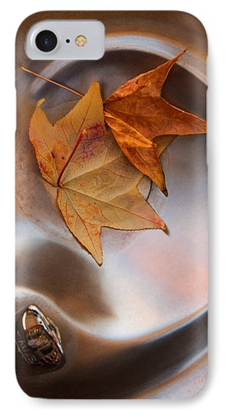 Fall Fountain IPhone Case by Scott Sawyer