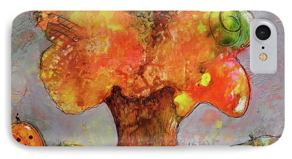 Fall Fun IPhone Case by Terry Honstead