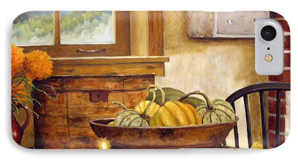 Fall Harvest Phone Case by Richard T Pranke