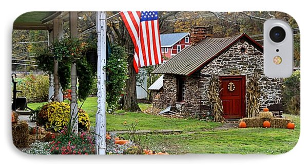IPhone Case featuring the photograph Fall Harvest - Rural America by DJ Florek