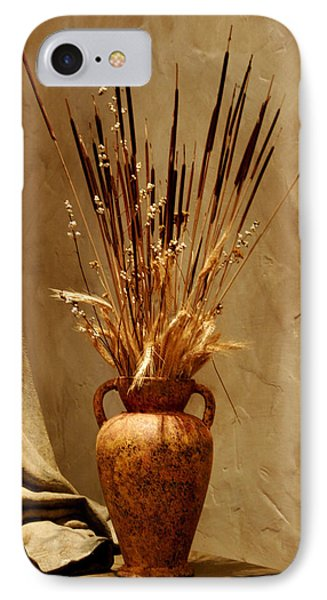 Fall In A Vase Still-life Phone Case by Christine Till