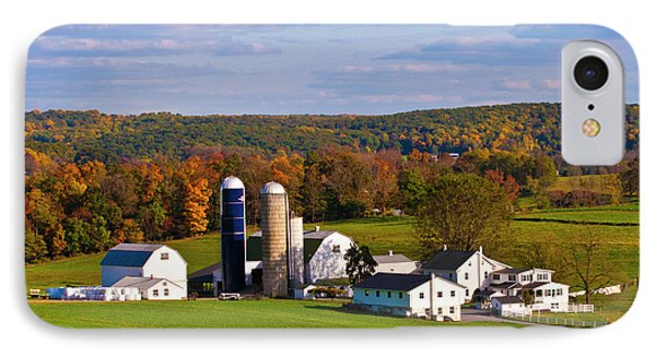 Fall In Amish Country IPhone Case by Lou Ford