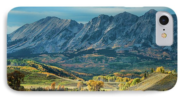 Fall In Gunnison County IPhone Case