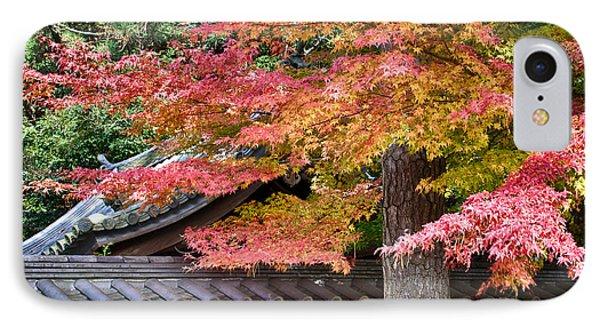 IPhone Case featuring the photograph Fall In Japan by Tad Kanazaki