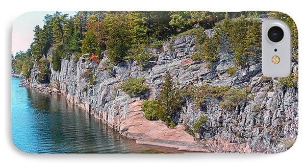 Fall In Muskoka IPhone Case by Claire Bull