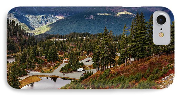 Fall In North Cascades IPhone Case by Marina Yesakova