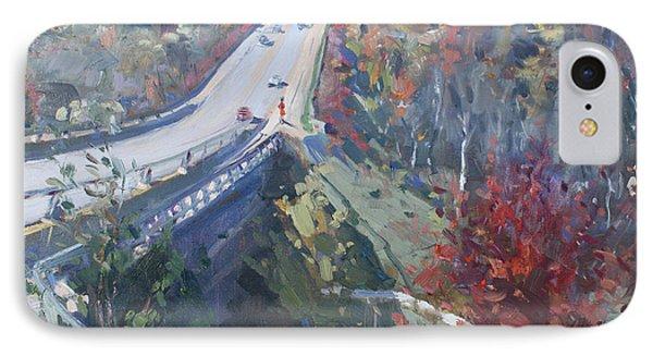 Fall In Silver Creek Georgetown  IPhone Case by Ylli Haruni