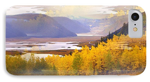 Fall In The Rockies Phone Case by Marty Koch