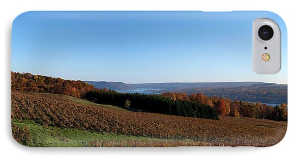 Fall In The Vineyards IPhone Case by Joshua House