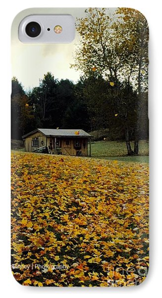 IPhone Case featuring the photograph Fall Leaves - No. 2015 by Joe Finney