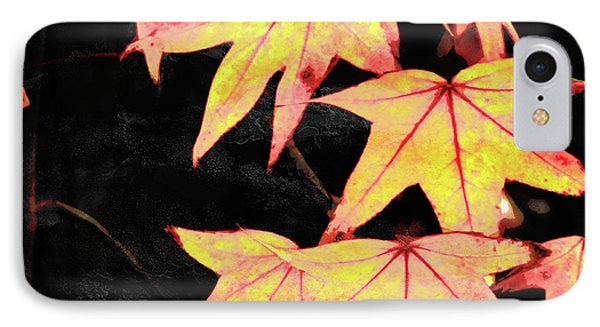 Fall Leaves Phone Case by Robert Ball