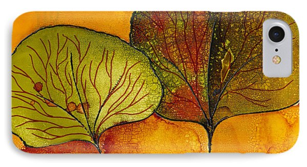 Fall Leaves  Phone Case by Susan Kubes