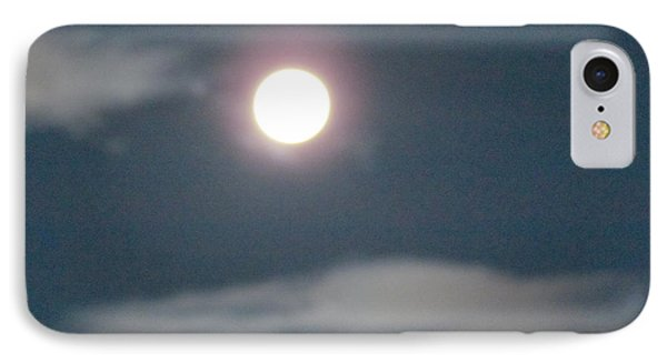 Fall Moon IPhone Case by Bonnie Muir