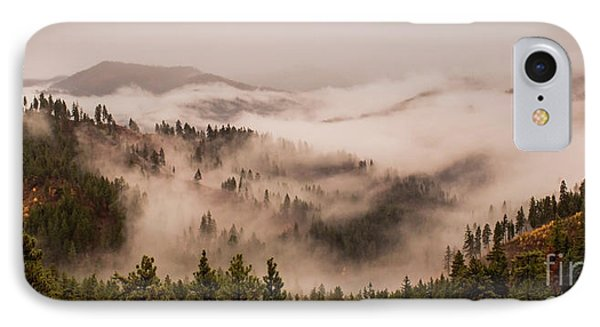 Fall Mountain Fog IPhone Case by Andrea Goodrich