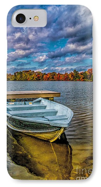 IPhone Case featuring the photograph Fall On Alloway Lake by Nick Zelinsky
