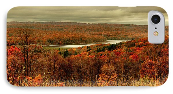 Deep Creek Lake Fall Vi IPhone Case by Neal Blizzard