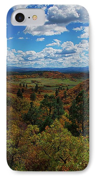 Fall On Four Mile Road IPhone Case by Jason Coward