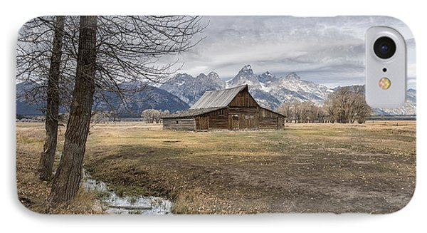 IPhone Case featuring the photograph Fall On Mormon Row - Grand Teton National Park by Sandra Bronstein