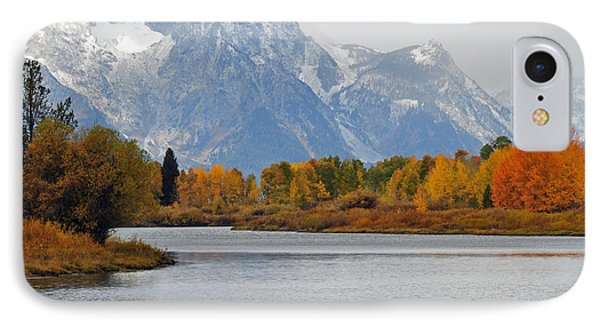 Fall On The Snake River In The Grand Tetons IPhone Case