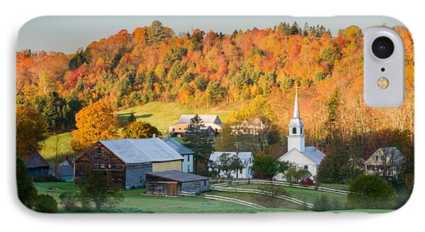 Fall Pastoral IPhone Case by Michael Blanchette