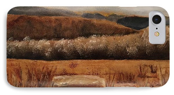 Fall Plains IPhone Case by Sharon Schultz