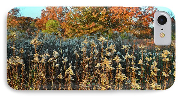 IPhone Case featuring the photograph Fall Prairie In Moraine Hills by Ray Mathis