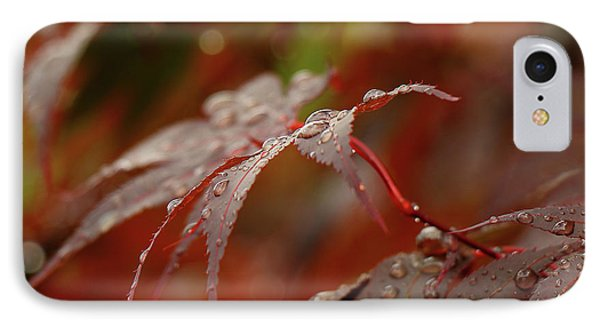 Fall Rain IPhone Case