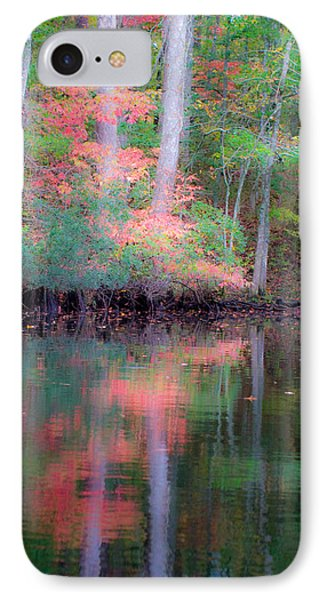 IPhone Case featuring the photograph Fall Reflections by Bob Decker