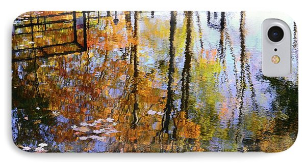 IPhone Case featuring the photograph Fall Reflections by Corinne Rhode
