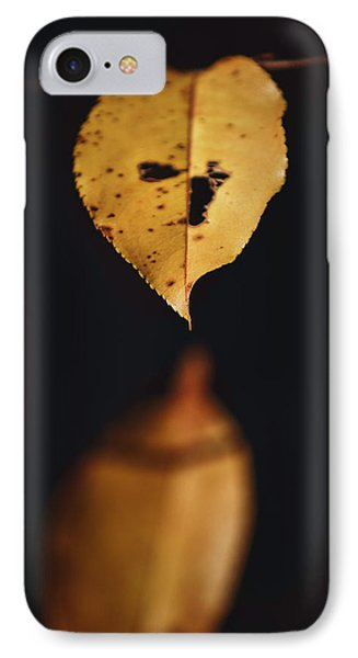 IPhone Case featuring the photograph Fall Reflections by Eduard Moldoveanu
