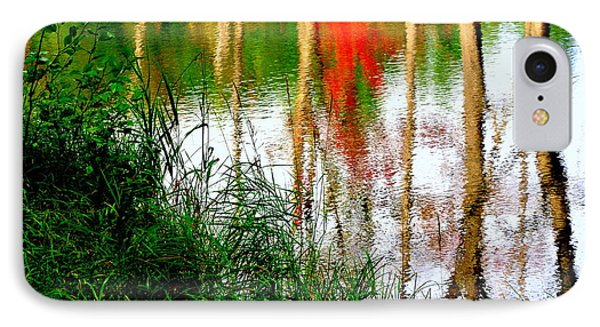 IPhone Case featuring the photograph Fall Reflections by Elfriede Fulda