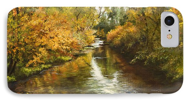 Fall Reflections IPhone Case by Jan Hardenburger