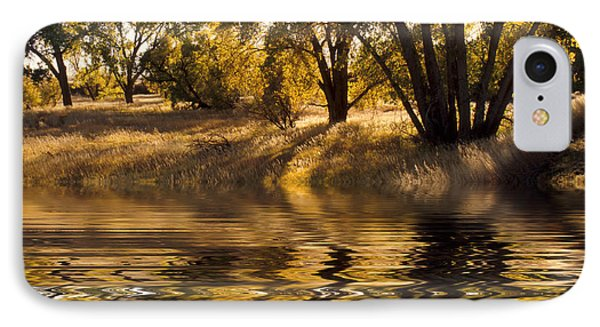 Fall Reflections IPhone Case by Jerry McElroy