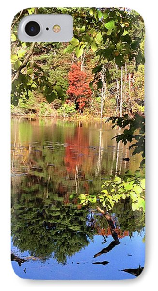 Fall Reflections Phone Case by Nancy Landry