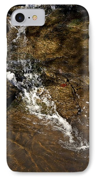 IPhone Case featuring the photograph Fall Runoff At Broadwater Falls by Michael Dougherty