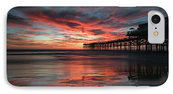 Fall Skies IPhone Case by Doug Barr