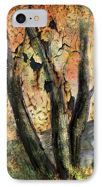 IPhone Case featuring the painting Fall Splendor  by Annette Berglund