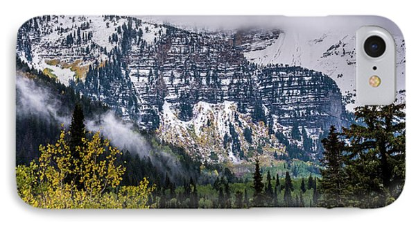 IPhone Case featuring the photograph Fall Storm In Wasatch Mountains - Utah by Gary Whitton